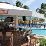 Pool bar at Renaissance Ocean Suites