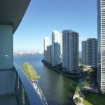 Downtown Miami from Balcony