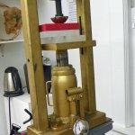 The Armory Art Center Jewelry Studio- Hydraulic Press