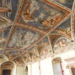Magno Palazzo affreschi del Romanino-particolare-