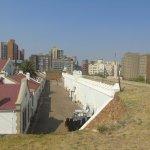 Vistas desde la muralla del fuerte