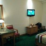 Delux room interior..