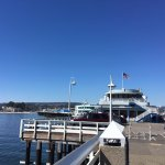 Picturesque at the end of Santa Cruz municipal warf.