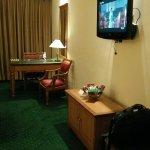 Delux room interior.