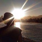 Pôr do sol no Arpoador - RJ