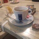 Nach gutem Essen in der Nachbarschaft haben wir hier noch guten Espresso und Averna getrunken. S