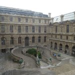 Bel Escalier Intérieur du Louvre