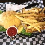 Hand cut fries ! Yum