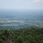 Birds Eye View of The Scenery in Shenandoah National Park