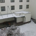 Innenhof im März 2016 - sehr ruhiges Zimmer