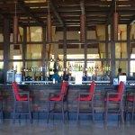 Bar en la terraza de la recepción