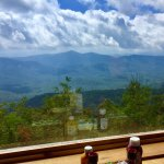 View from the tables at the Pisgah Inn