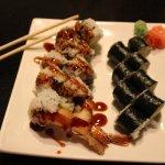 Shrimp and avocado rolls