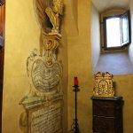 The original burial site of Galileo