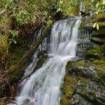 Upper Mingo Falls Lower Section