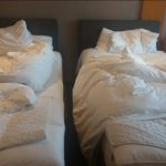 Beds very close together