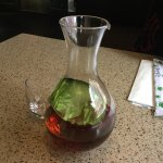 Chilled plum wine!