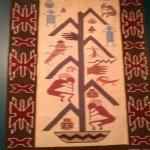 Native tribe weaving
