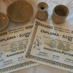 Pottery making and certificates very awesome
