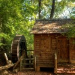 The old grist mill (replica)