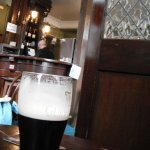 Pint of Guinness at The Lord Edward