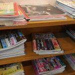 Books and magazine for waiting list people,