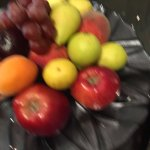 complimentary fruits/ snacks