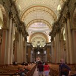 One of the many cathedrals in Montreal