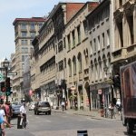 A glance into the old city along a tour program