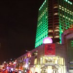 Colorful Montreal at night