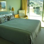 Lie in bed and look out at the lake from the Upper Temple wing bedrooms