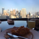 Breakfast in the club room