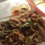 Wide noodles....YUM!