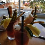 bloody mary - now with crab!!!
