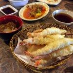 Shrimp Tempura & Won Ton Soup