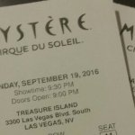 Tickets for Mystere