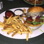 Green Mill Restaurant - Winona - Four Cheese Bacon Burger