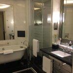 Huge room and huge bathroom