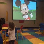 Loved the kids theater room, every morning during breakfast!! So fun!!