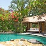Villa 9 pool bale at Villa Kubu, Seminyak, Bali