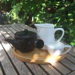 Quaint little tea pot