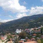 Hotel and around the village