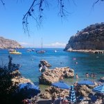 Живописная бухта Anthony Quinn Bay