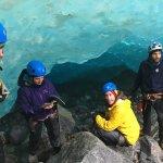 Glacier Cave at Lemon Glacier