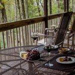 Irene's Oak back porch