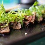 Beef Tataki starter