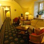 ホテルの雰囲気のある廊下