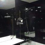 ultra moderne, schampoing, bonnet de bains