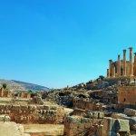 A view of Jerash.