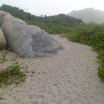 Parte del Sendero hacia las playas